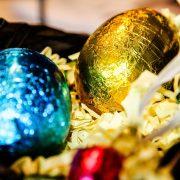 Ostern: Versuchung der Schokoladeneier