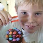 Gefüllte Muffins für die Piratenparty - Rezept für Kinder