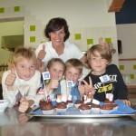 Mit Goldtalern gefüllte Muffins - Kochen mit Kindern - ConnyPURE