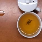 Grüner Tee darf max. 3 Minuten ziehen.