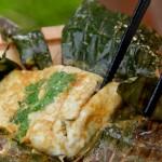 Fisch im Bananenblatt auf den Grill - Rezept ConnyPURE