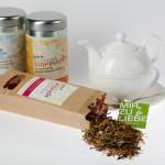 PURE Tee: Beim Teesortiment von pure life ist für jeden Geschmack und Jahreszeit was dabei.