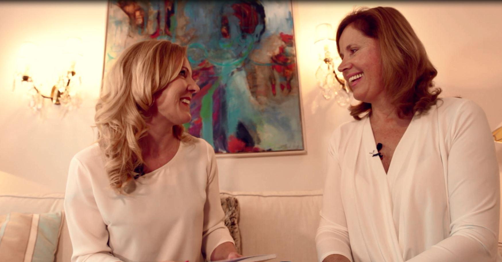 Anne Hild mit Conny Hörl