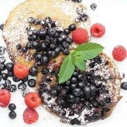 Heidelbeerpfannkuchen aus Quinoamehl - Rezept ConnyPURE