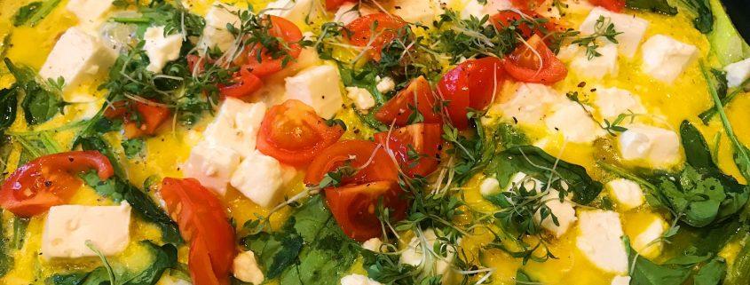 Schnelle Küche - Frittata - Low Carb
