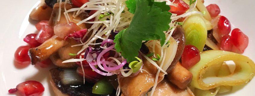 neues Rezept mit Shiitakepilzen - ConnyPURE