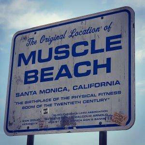 Muscle Beach - Santa Monica California - Blogbeitrag