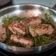 Rehrücken nicht zu heiß in der Pfanne anbraten - Rezept ConnyPURE